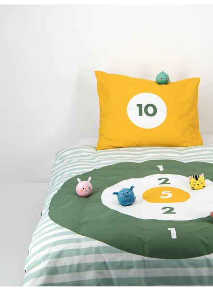 Kinder-Bettwäsche – 140 x 200 cm - Ballspielmotiv – grün - 5740019 - HEMA