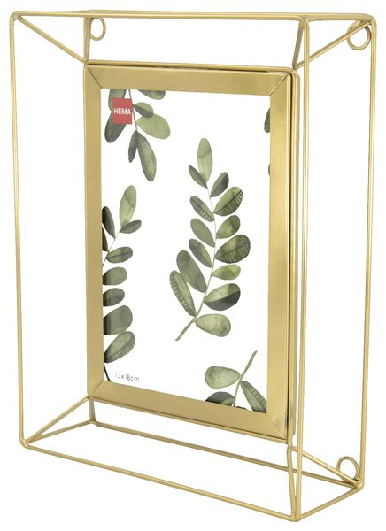 photo stand metal 13x18 - gold - 13621013 - hema
