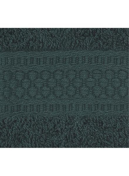 towel - heavy quality - dark green dark green guest towel - 5220012 - hema