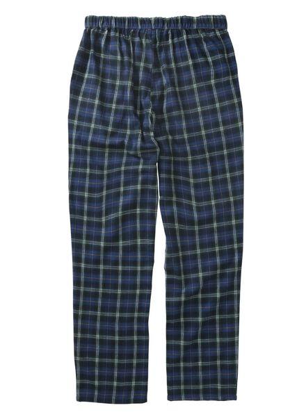 Herren-Pyjamahose, Flanell grün grün - 1000013581 - HEMA