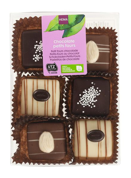 petits fours au chocolat - 10330027 - HEMA