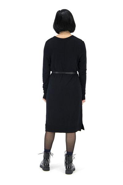 women's dress black black - 1000017430 - hema