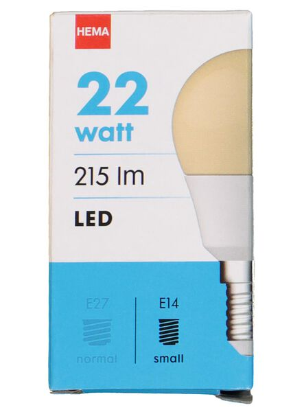 LED light bulb 22W - 215 lm - bullet - flame - 20020026 - hema