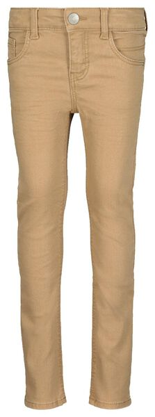 children's skinny fit trousers sand sand - 1000020384 - hema