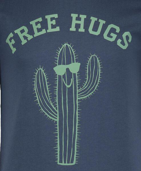 2-pack children's T-shirts blue blue - 1000018907 - hema
