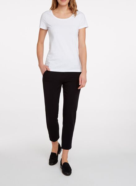 t-shirt femme blanc S - 36398023 - HEMA