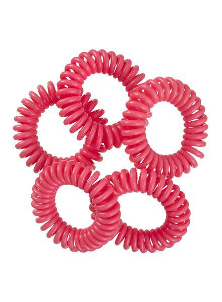 5-pack spiral elastics - 11870023 - hema