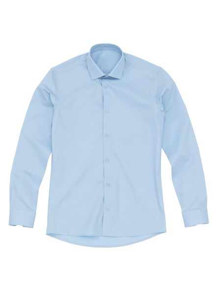 men's shirt light blue light blue - 1000006038 - hema