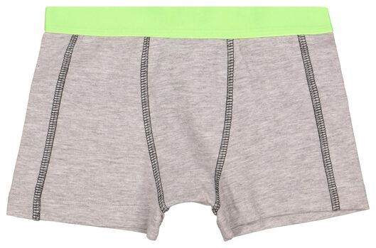 2-pack children's boxers black black - 1000017791 - hema