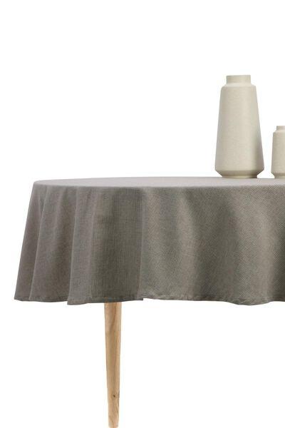 tablecloth Ø 180 cm cotton - 5300107 - hema