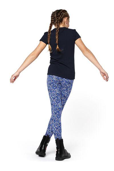 children's leggings blue blue - 1000017533 - hema