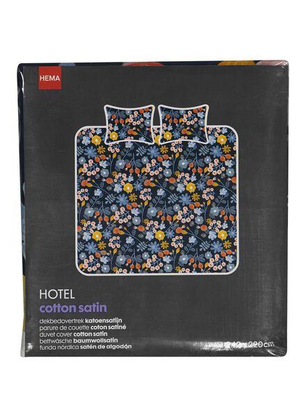 housse de couette hôtel coton satiné 240 x 220 cm multicolore 240 x 220 - 5710078 - HEMA