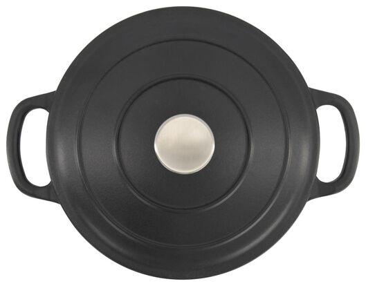 Schmortopf Lyon, Ø 24 cm, schwarz - 80140002 - HEMA