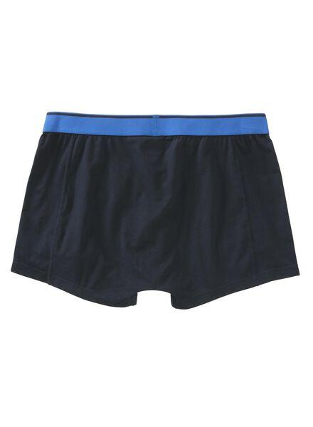 2-pack men's boxers - microfibre blue blue - 1000006497 - hema