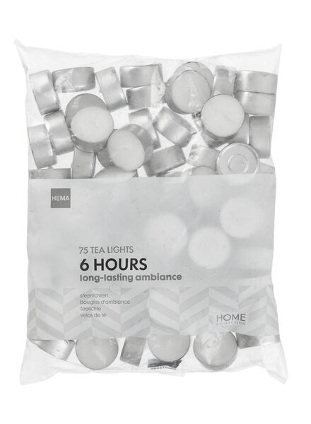 75 bougies d'ambiance avec 6 heures de combustion - 13500061 - HEMA