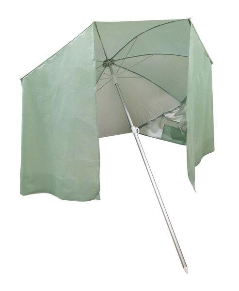 HEMA Sonnenschirm Mit Windschutz, Ø 180 Cm, Hellgrün