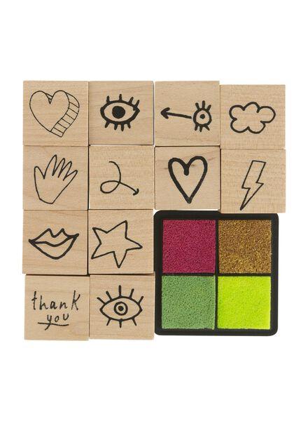 Image of HEMA 12-pack Stamp Set