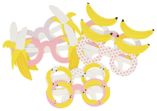6 pairs of party glasses - 14230185 - hema