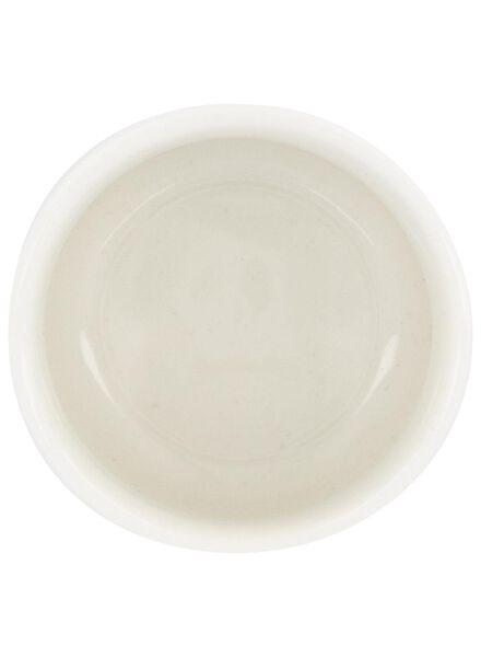 eierdop - 5 cm - Rome - new bone - wit - 9602046 - HEMA