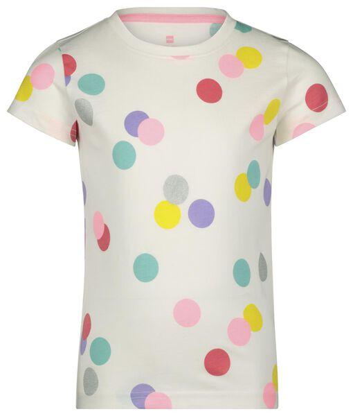 Kinder-Kurzpyjama, Punkte eierschalenfarben eierschalenfarben - 1000023637 - HEMA