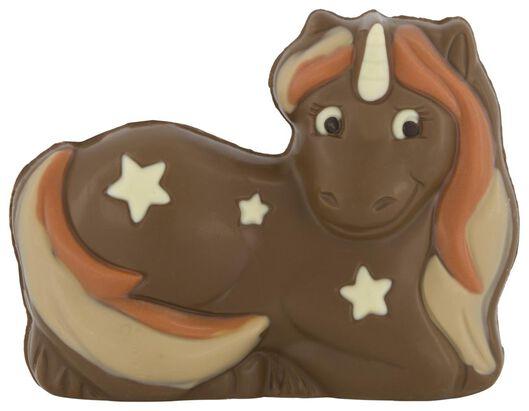 chocolate figure unicorn 220 grams - 10051019 - hema