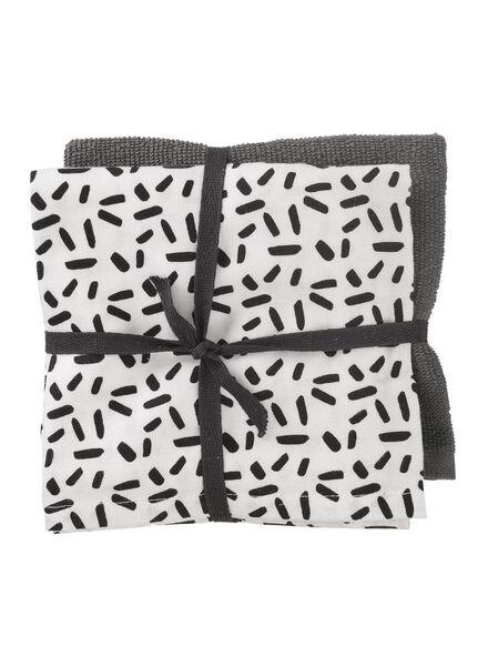 2-pack tea- and kitchen towels - 5420024 - hema
