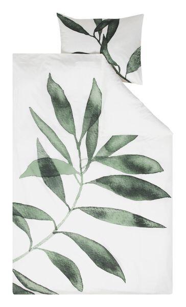 housse de couette - coton doux - 140x200/220 - feuilles - 5730074 - HEMA