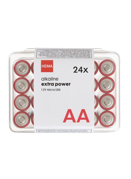 HEMA 24er-Pack Batterien, Typ AA