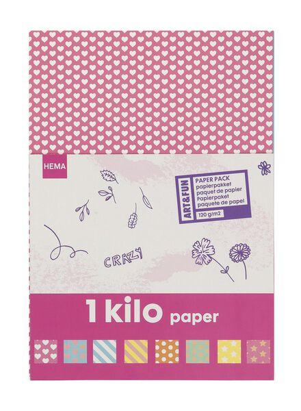 Papierpaket, 1 Kilo - 15919277 - HEMA