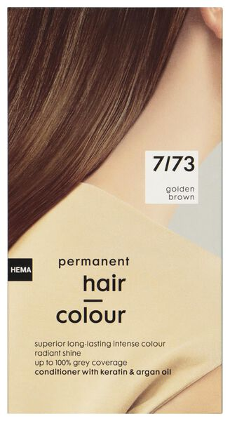 hair dye gold brown 7/73 - 11050033 - hema