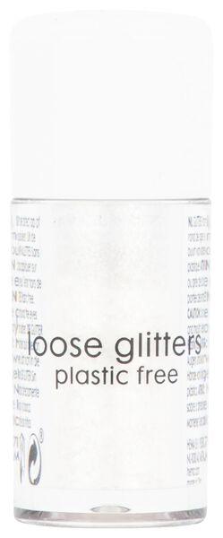 loose glitter - white - 3 grams - 11200052 - hema