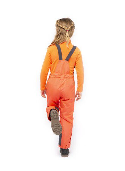 pantalon de ski enfant rose corail rose corail - 1000017218 - HEMA