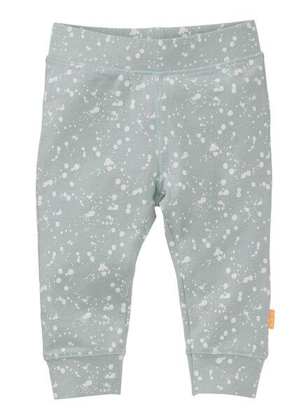 newborn trousers light blue light blue - 1000006380 - hema