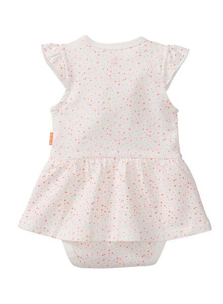 baby bodysuit dress off-white off-white - 1000007680 - hema