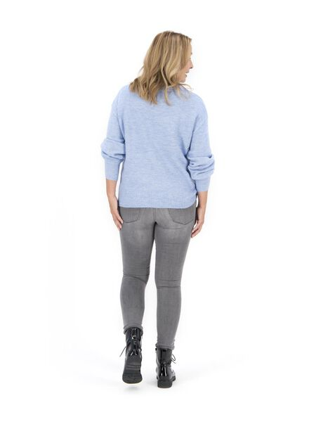 women's sweater light blue light blue - 1000017074 - hema