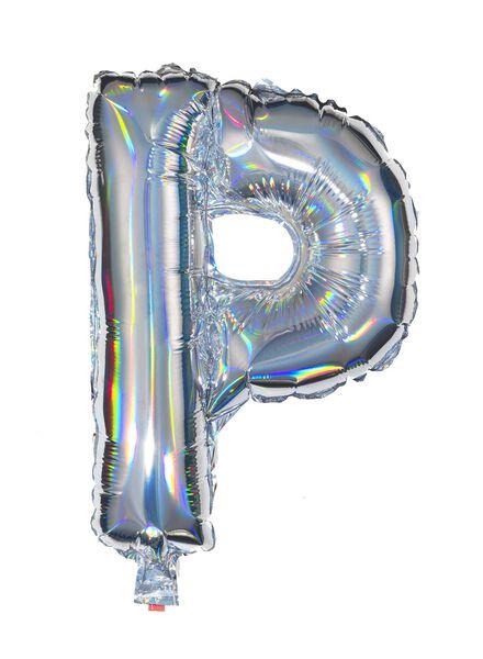 ballon alu lettre P - argenté - 14200218 - HEMA