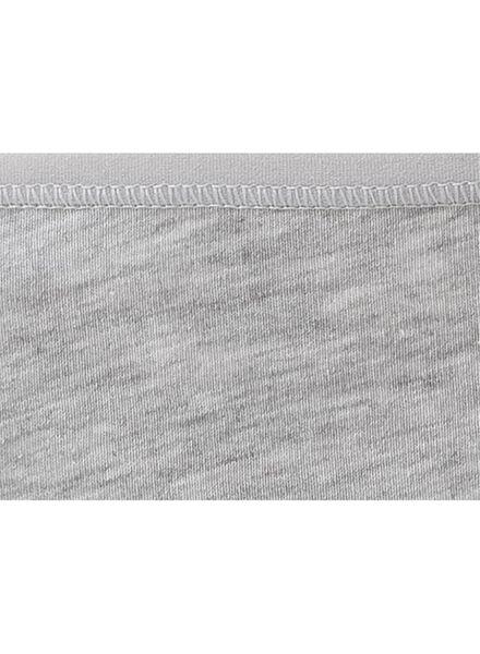 3-pack women's hipster panties cotton grey melange grey melange - 1000006535 - hema