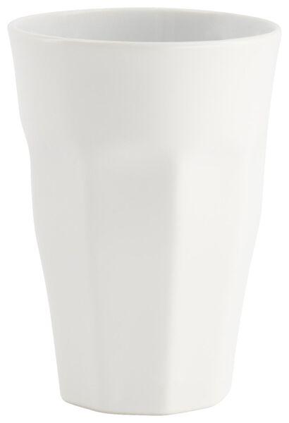 mug - 330 ml - Mirabeau mat - blanc - 9602210 - HEMA