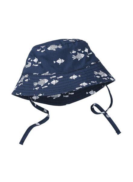 baby fisherman's cap dark blue dark blue - 1000006710 - hema