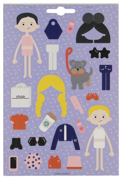 album d'autocollants vêtements - 15950048 - HEMA