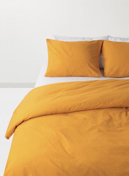 duvet cover - soft cotton - uni yellow ochre yellow ochre - 1000017570 - hema