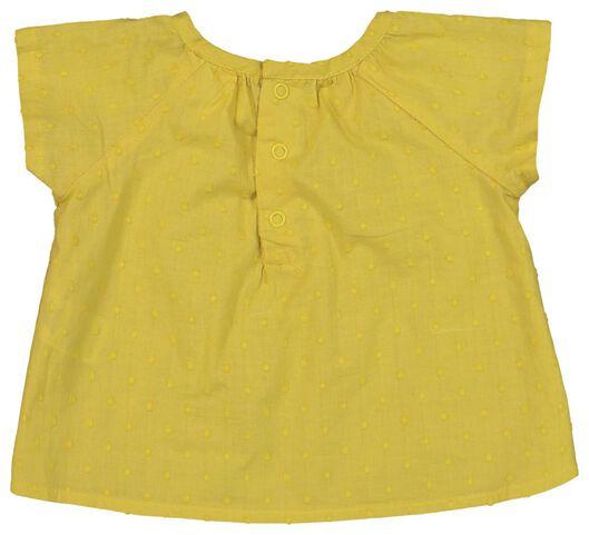 Newborn-Set, Tunika und Hose, Biobaumwolle gelb gelb - 1000019825 - HEMA