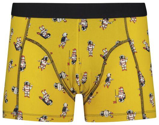men's boxers short cotton stretch yellow yellow - 1000018805 - hema