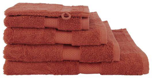 serviettes de bain - qualité supérieure terra terra - 1000020022 - HEMA