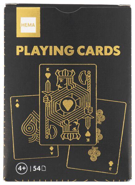speelkaarten goud - 61122969 - HEMA