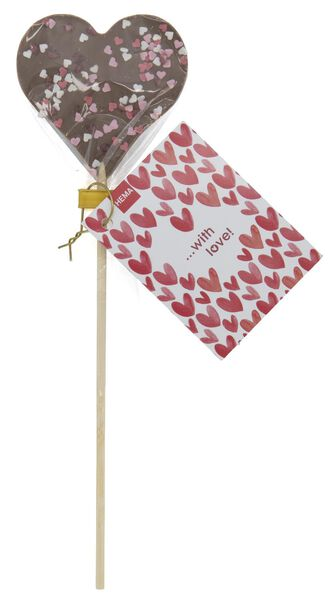 milk chocolate lollipop 45 grams - 10056002 - hema