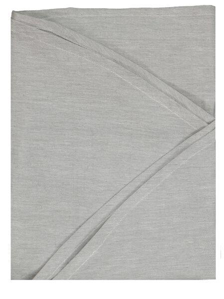 Tischdecke, Ø 180 cm, Chambray, grau - 5300106 - HEMA