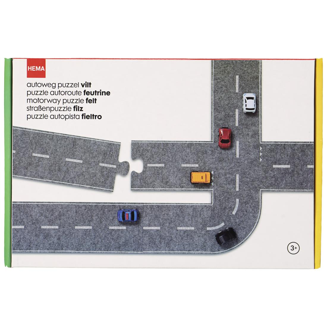 Puzzle Route 27 Pieces Hema