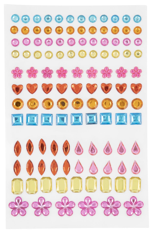 edelstenen stickers