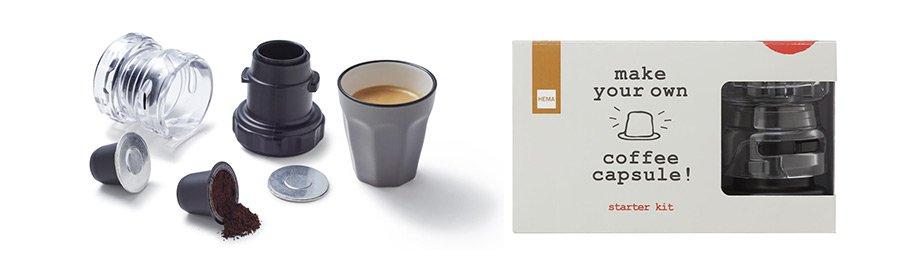 koffiecapsule maker HEMA